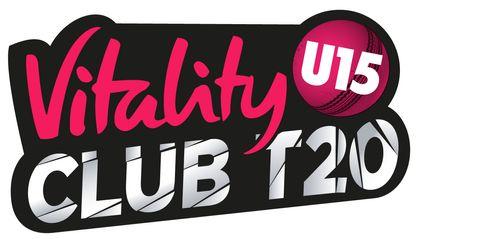 Vitality U15 Club T20 logo